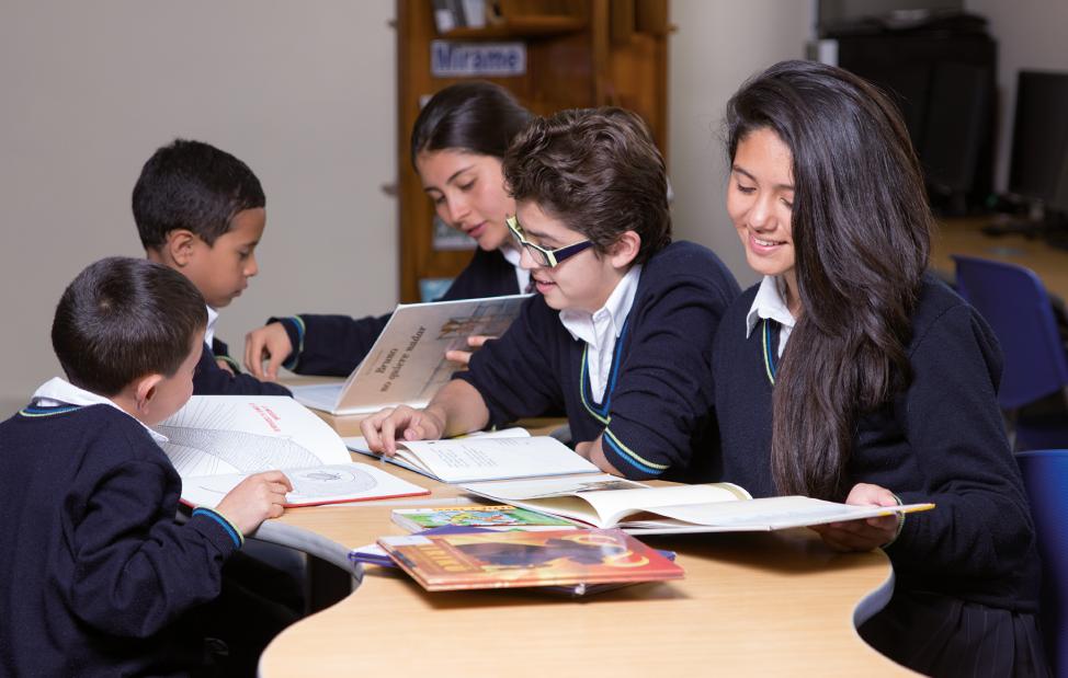 Proyecto de Sincro-Lectura, estudiantes