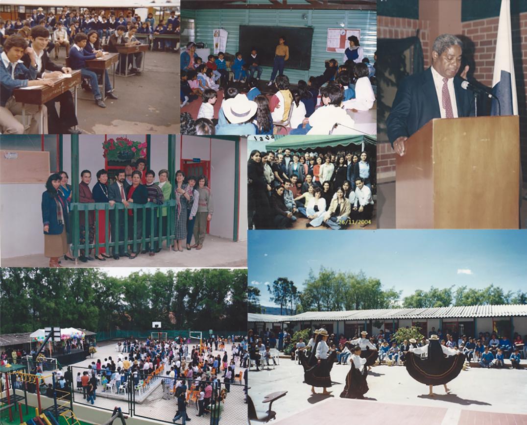 Historia del Colegio Canapro